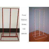 Buy cheap 3 Strips Snake Potato Chip Clip Rack / Double Sides Food Hanging Chip Clip from wholesalers