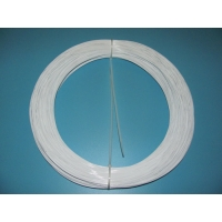 Quality Anti Yellow White Plastic Coated Wire Hook And Eye Bras Wire for sale