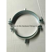 Quality Stainless Steel Tube Clamp Fittings , Wall Mount Pipe Alignment Clamp CE / ROHS / FCC for sale