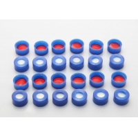 Buy cheap Centre Hole Silicone Screw Liner 8.5mm Thread Ptfe Septum from wholesalers