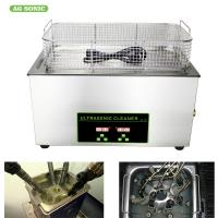 Quality Injector Mould Car Parts Dental Ultrasonic Cleaner Medical Tools Wash With Heater / Timer for sale