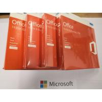 Quality Multipal Language Microsoft Office 2016 Home and Business Rretail Package Genuine DVD Full Version Office 2016 HB for sale