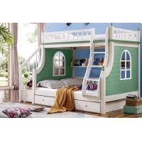 Mediterranean Style Kids Furniture Wooden Storage Children