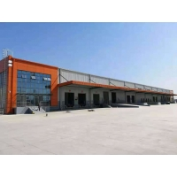 Quality Well Cladding Waterproof Industrial Portal Frame Steel Structure Workshop Solution for sale