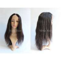 Quality Straight Glueless Full Lace Wigs Brazilian Hair No Shedding No Tangle for sale