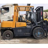 Buy cheap used 4.5ton tcm forklift FD45T8 originally made in japan ,worked for 2000 hrs, from wholesalers