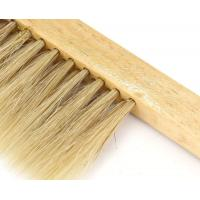 Quality Bee Brush With Wooden Handle Double Row Bristle for Beekeeping for sale