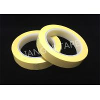 Quality Light Yellow Polyester Mylar Tape With Flame Retardant 0.055mm Thickness for sale