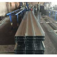 Quality Q235b Q345b Galvanised Steel Purlins Cold Bending Spacing Steel Channel for sale