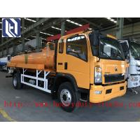 Quality HOWO 4*2 10CBM 10000L Vaccum Sewage Suction Truck 120hp Horse Power for sale