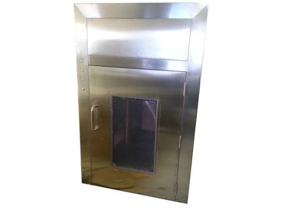 Buy Portable 201 Vertical Down Flow Pass Box With Air Shower / Air Shower Room at wholesale prices
