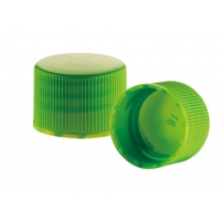 Quality Ribbed Smooth 20 410 Aluminum Plastic Closure Caps for sale