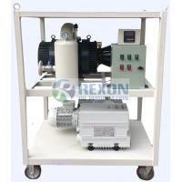Buy cheap Double Stage High Vacuum Pump Set Transformer Vacuuming System RNVS-300 from wholesalers