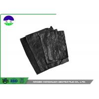 Quality Black Separation Woven Geotextile Fabric Pp Material 205gsm Unit Mass for sale