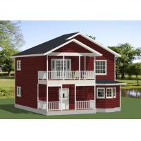 Buy cheap Movable Prefab Modular House By Galvanized Steel Frame Contemporary Style from wholesalers