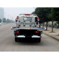 Quality Road Block Removal Flatbed Tow Truck Total Weight (Kg) 6200 White Color for sale