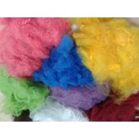 Quality Solid Recycled Polyester Staple Fiber , High Tenacity Siliconized Polyester Fibre for sale