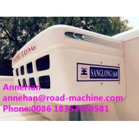 Quality Euro 2 Heavy Cargo Trucks , 5 Ton Refrigerated Truck For Frozen Foods Transporting for sale