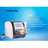 Quality professional laser tattoo removal Portable Q Switched Nd Yag Laser Tattoo Removal Machine Color Touch Screen CE Approved for sale