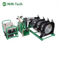 China Polyethylene pipe butt welders,Manually Operated HDPE butt fusion welding machine for PE and PP pipes and fittings on sale