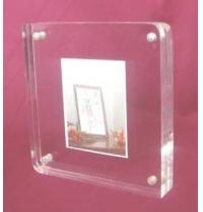 China acrylic photo frame (MH-PF048) on sale