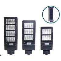 Quality Outdoor Waterproof Ip66 Solar Street Light With Lithium Battery for sale