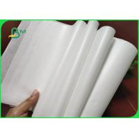 Buy cheap 32 / 35 / 40grams MG White Kraft Paper FDA Roll Packaging For Packing Chips from wholesalers