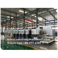 Quality YUNXIANG Group Lead Edge High Definition Flexo Printer Slotter Machine for sale