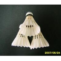 Quality Grade Three of Goose Feather Shuttlecock for sale