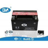 Quality Rechargeable 125cc Motorcycle Battery 12v 7Ah Maintenance Free With Acid Pack for sale