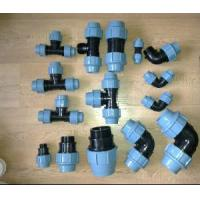 China PP PE Compression Fittings on sale