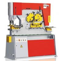 Quality Q35Y Swing Beam Hydraulic Ironworker For Metal Shearing / Punching for sale