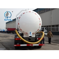 Quality 290HP 336HP Sewage Vacuum Truck 6 X 4 , SINOTRUCK HOWO White Truck for sale
