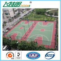 Quality Acrylic acid Sport Court Surface , basketball court surfaces outdoor Indoor for sale