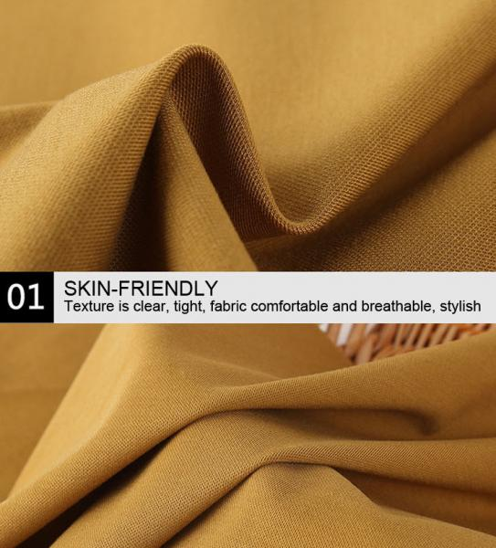 Buy NR Ponte De Roma Knit Fabric Rayon Spandex Knit Double Dyed Finishing at wholesale prices