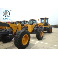 Quality CIVL GR215 Motor Graders in Yellow White , 7000kg Operating Weight for sale