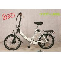 Buy cheap 250 W Motorized Folding Bike / Bicycle , Recycle Foldaway Electric Bike from wholesalers