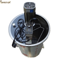 Quality 3 frame bee automatic radial honey extraction machine beekeeping electric motor Stainless Steel Honey Extractor for sale
