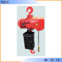 Quality Lifting Electric Chain Hoist / Hoist Lift with Electric Trolley for sale