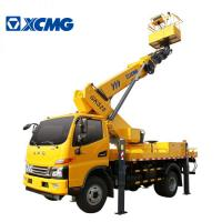 Quality XCMG Official Small Scissor Lift Platform , Aerial Lifts And Aerial Work Platforms for sale