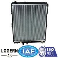 Quality Hilux / 4 Runner'97-01 TOYOTA Car Radiator Auto Spare Parts 55/55*544mm Tank Size for sale