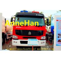 Quality HOWO 6x4 12m3 371HP Fire Fighting Truck Water Tank With Pumps Ladders EUROIII for sale