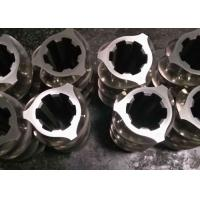 Quality Custimizable Extruder Machine Parts , Extruder Screws And Barrels Wear Resistant for sale