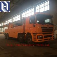 Quality Flat Bed Diesel Engine Wrecker Tow Truck With Lifting Weight 465kgs , Loading 2tons for sale