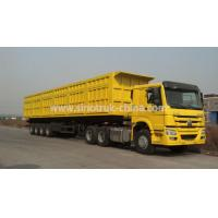 China Box Heavy Duty Four Axle Trailer 16 Wheels For Transport Valuable Goods on sale