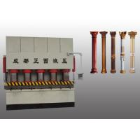 Quality PLC Control Hydraulic Embossing Press High Performance For Iron Steel Door Making for sale