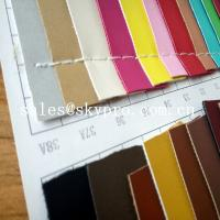 Buy cheap 1mm Thick PU Synthetic Leather Wear Resistence Custom embossed PVC Leather Vinyl Fabric from wholesalers