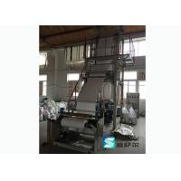 Quality Single Screw Hdpe Plastic Bag Blowing Machine Elevator Rotary Head CE Approved for sale