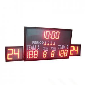 Buy cheap Outside Multi Portable Basketball Score Clock , Basketball Game Scoreboard from wholesalers