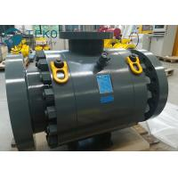 Buy cheap High Pressure DBB Anti-static MSSP Flanged Trunnion Mounted Ball Valve from wholesalers